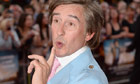 Steve Coogan at the Alan Partridge: Alpha Papa premiere
