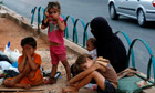 Homeless Syrian children