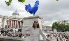 Katharina Fritsch and her fourth plinth cockerel