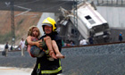 Spanish firefighter