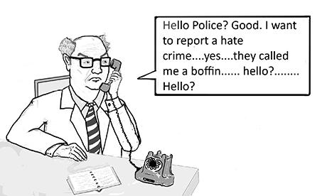 Boffin crime