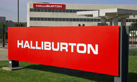 Halliburton has admitted ordering employees to delete computer simulations