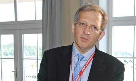 Newly appointed Bank of England deputy governor Sir Jon Cunliffe, pictured here in 2007 in his role as UK Second Permanent Secretary for the Treasury.