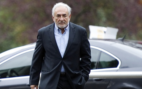Ex-IMF chief Dominique Strauss-Kahn, who is to be tried for pimping.