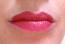 Nude lips with Chanel Mademoiselle lipstick