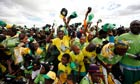 Zanu PF members at rally in Zimbabwe