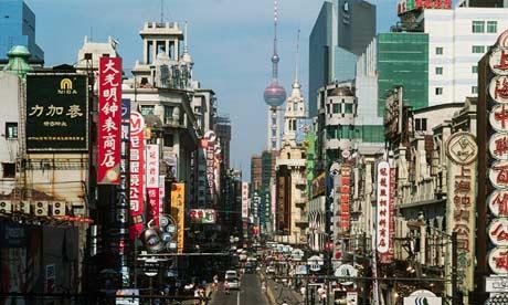 Nanjing Road en Shanghai