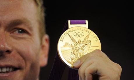 Chris Hoy Olympics 2012