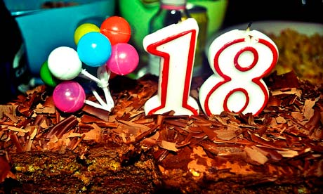 18 years: