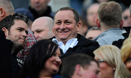The Sports Direct founder and Newcastle United owner Mike Ashley