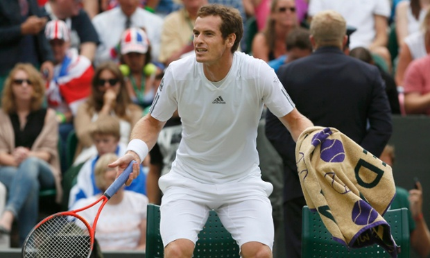 Andy Murray muses over which he should use.