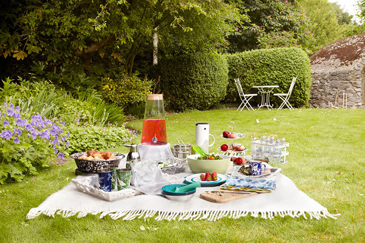 summer homes and gardens party picnic life and style