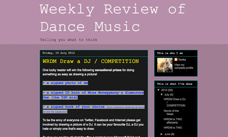 Weekly Review of Dance Music