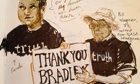 Bradley Manning court drawing 140