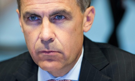 Mark Carney, governor of the Bank Of England, attends a monetary policy committee (MPC) briefing on his first day inside the central bank's headquarters on July 1, 2013 in London, England.