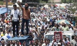 Egypt's 'day of rejection' - live updates