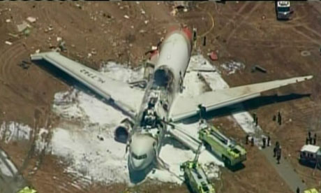Asiana Airlines Boeing 777 crash