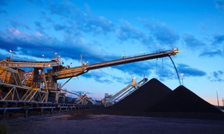 Coal loading operations in the Hunter Valley.