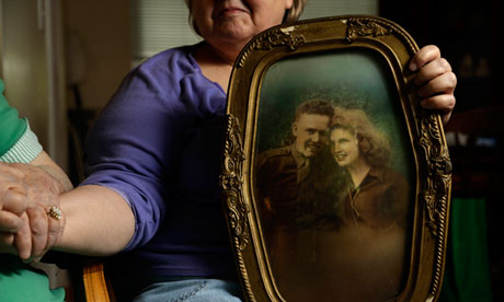 Shelia Reese's father, Chris Tench, is still missing in action from the Korean war. Photograph: Gerry Broome/AP