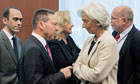 Ioannis Stournaras and Christine Lagarde