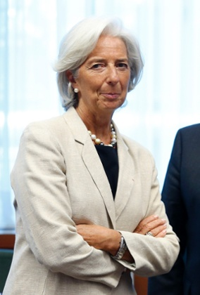 International Monetary Fund (IMF) Managing Director Christine Lagarde waits for the start of an euro zone finance ministers meeting in Brussels July 8, 2013.