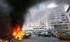Beirut car bomb blasts Hezbollah stronghold