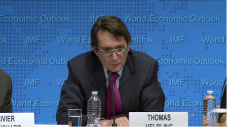 Thomas Helbling of the IMF