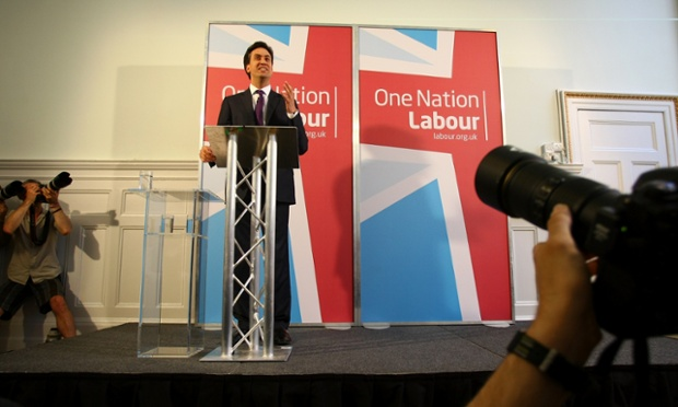 Labour Leader Ed Miliband gives a speech in London, outlining the reforms which are planned for Labour's links with trade unions.