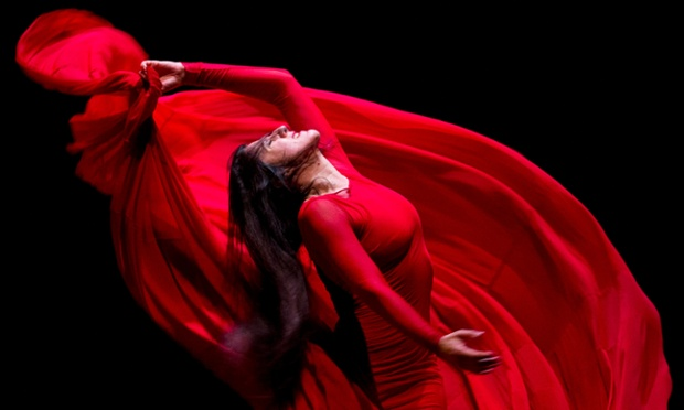 Spanish dancer Maria Pages brings her latest Flamenco ballet 'Utopia' to Russia at the Moscow State Variety Theatre.
