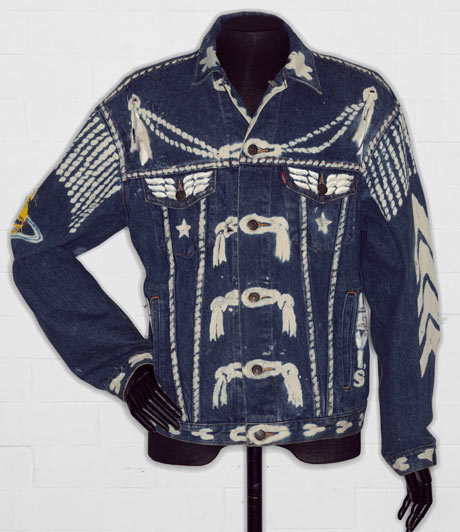 'Blitz' denim jacket by Vivienne Westwood