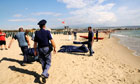 Six Egyptian migrants drown on 20-metre swim from boat to Sicily beach