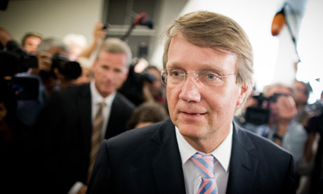 German minister Ronald Pofalla