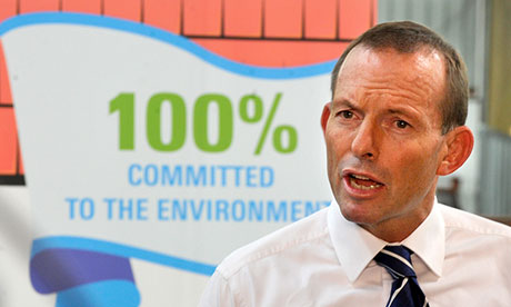 tony abbott environment