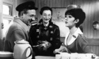 Sid James, Charles Hawtrey and Amanda Barrie in Carry On Cabbie