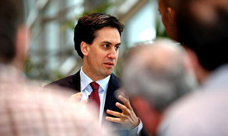 ED Miliband talking to voters