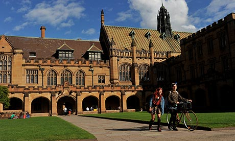 Astronomy international studies sydney university
