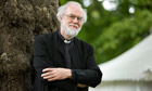 Former archbishop of Canterbury Rowan Williams at the Edinburgh international book festival