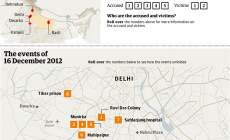 Interactive: the events of 16 December 2012