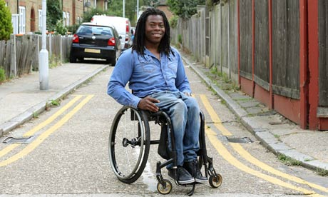 Ade Adepitan: 'My parents thought me getting into a wheelchair was like me giving up on walking'.