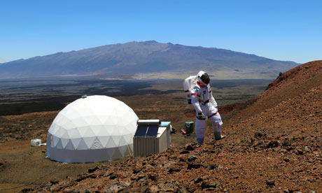 Hi-Seas Mars experiment Hawaii