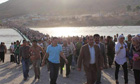 Thousands of Syrian refugees pour into Iraq