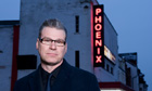Mark Kermode, the Observer's new film critic, outside the Phoenix Cinema in East Finchley, London.