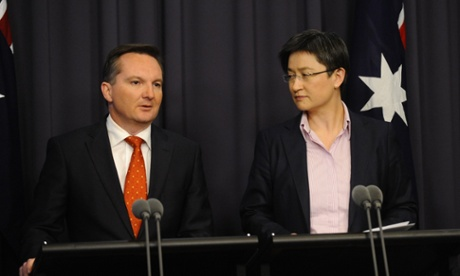 Treasurer Chris Bowen and Minister for Finance Penny Wong.