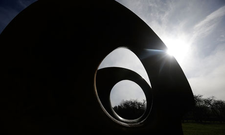 Henry Moore's sculpture Double Oval