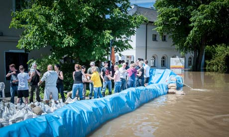 Flood in Eastern Germany