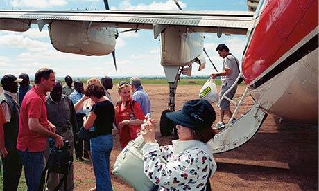 Masai Mara tourists