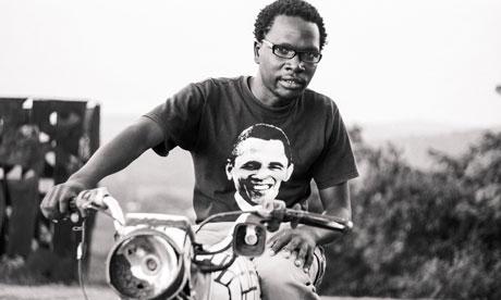 African photos - Uganda motorbike