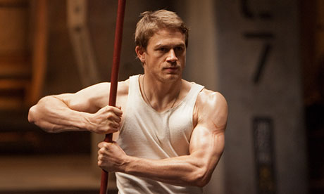 Up and coming: Charlie Hunnam in Pacific Rim