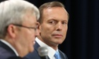The Leader of the Opposition Tony Abbott at a