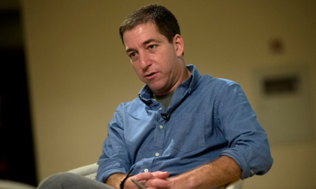 Journalist Glenn Greenwald: 'Journalism is not a crime and it's not terrorism'. Photograph: Silvia Izquierdo/AP